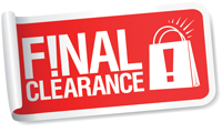 Final Clearance!